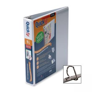 Stride QuickFit D-Ring Binder - White - 1.50""