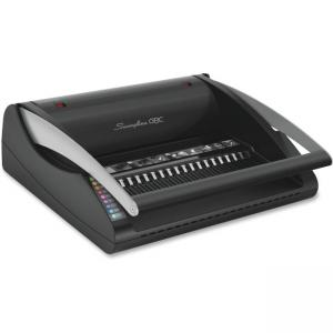 "Swingline C20 CombBind Machine - Manual - CombBind - 330 Sheet(s) Bind - 20 Punch - Letter - 9.3"" x 21.8\"" x 18.8\"" - Black"