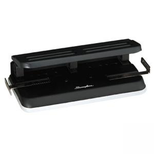 Swingline Three-Hole Punch - Black - Gray