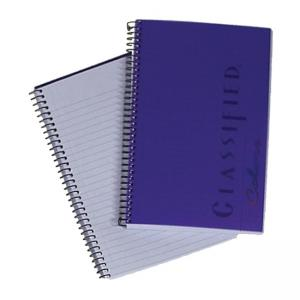 "Tops Classified Business Notebook - 5.50"" x 8.50"""