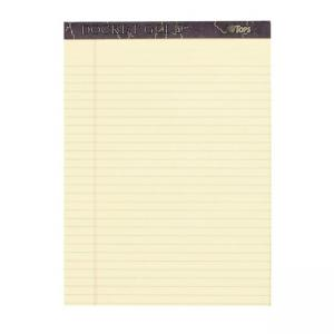 Tops Docket Gold Legal Pad - 6 / Pack