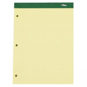 "Tops Double Docket Legal Pad - 8.50"" x 11.75"""