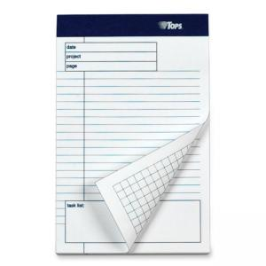 "Tops Planning pad with Ruled Task List - 5"" x 8"""