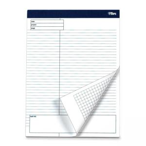 Tops Project Planning Pad with Margin Task List - Chipboard