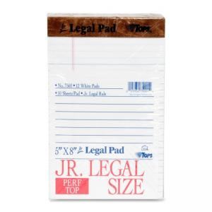 Tops The Legal Pad Ruled Perforated