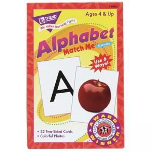 Trend Alphabet Match Me Flash Cards - 1 Each