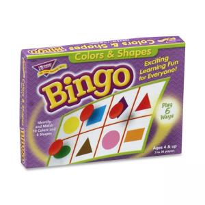 Trend Colors and Shapes Learners Bingo Game - 1 Set