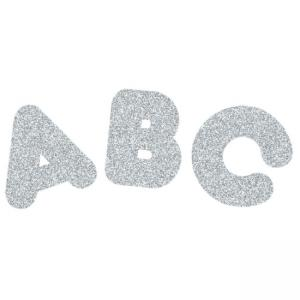 Trend Ready Letters Sparkle Letters - 1 Each - Silver