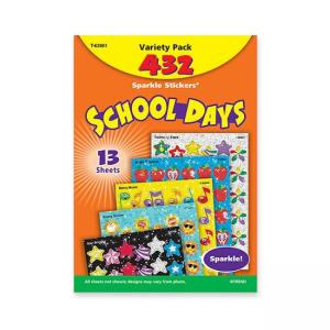Trend School Days Variety Pack Sparkle Sticker