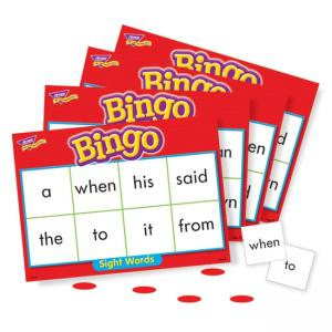 Trend Sight Words Bingo Game - 1 Each
