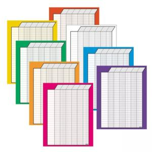 Trend Vertical Variety Incentive Chart 8 /Pack