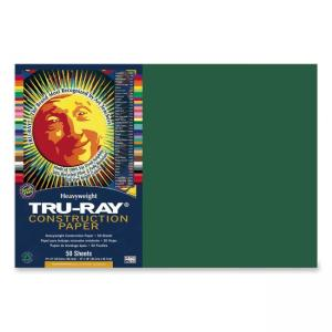 Tru-Ray Construction Paper - Dark Green - 1 / Pack
