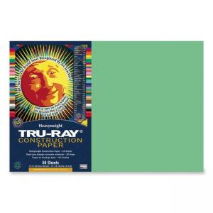 Tru-Ray Construction Paper - Light Green - 1 / Pack