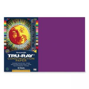 Tru-Ray Construction Paper - 1 / Pack - Magenta