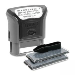 "U.S. Stamp and Sign Do-It-Yourself 5915 Self-inking Stamp - 0.75"" x 1.88"""