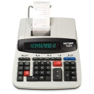 Victor Printing Calculator - 12 Character - LCD