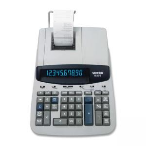 Victor Heavy Duty Commercial Printing Calculator - 10 Character - Fluorescent