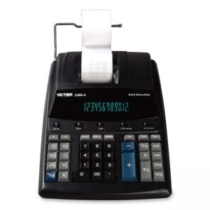 "Victor Extra Heavy Duty Printing Calculator - 0.7"" - 12 Character"