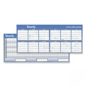 "Visual Organizer Large Dated Yearly Planner - 60"" x 20"""