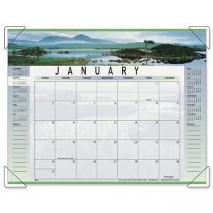 Visual Organizer Panoramic Landscape Desk Pad