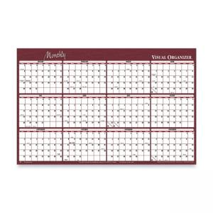"Visual Organizer Reversible Monthly Planner - 48"" x 32"""
