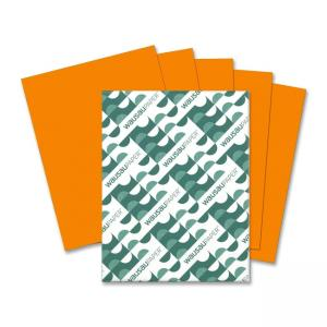 Wausau Paper Astrobrights Colored Paper - 500 / Ream - Orange