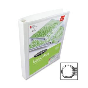 "Wilson Jones Flexible Poly Ring Binder - 3 x 0.63"" Capacity"