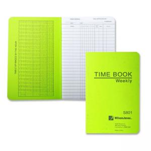 Wilson Jones Foremans Pocket Size Time Book - 23 Lines