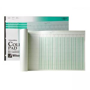 Wilson Jones Columnar Pad - 50  Sheets
