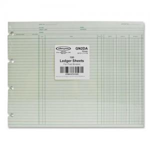 Wilson Jones Regular Ledger Sheets - 100 / Pack