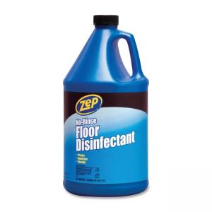 Zep No-Rinse Floor Disinfectant - Blue