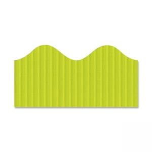 "Pacon Bordette Decorative Border - 2.3"" x 50 ft - Lime"