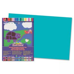 "Pacon SunWorks Groundwood Construction Paper - 12"" x 18"" - Turquoise"