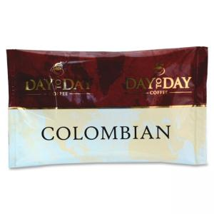 PapaNicholas Coffee Coffee, Single Pot Pack, 42/CT, Day To Day Colombian Blend Pot Pack - Caffeinated - Day To Day Colombian Ble