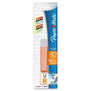 Paper Mate Mates Pencil Lead Refill Pack - 1.30 mm - HB - Assorted - 12 / Pack