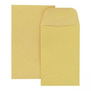 Quality Park Coin Envelope - 500 / Box - Kraft