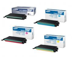 Samsung CLP-610ND Samsung CLP-610ND - Toner Cartridges (Black, Cyan, Magenta, Yellow)