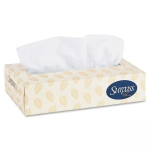 Kimberly-Clark Scott Surpass Facial Tissue - 2 Ply - 30 / Carton - Yellow