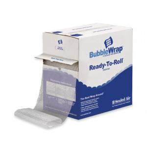 "Sealed Air Sealed Air Bubble Wrap Brand Cushioning Material 12"" Width x 175 ft Length - Clear"