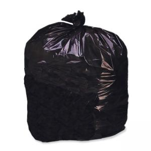 "Skilcraft 8105-01-183-9769 Heavy Duty Plastic Trash Bag - 33 gal33"" x 39\"" - Plastic - 125 / Box - Dark Brown"