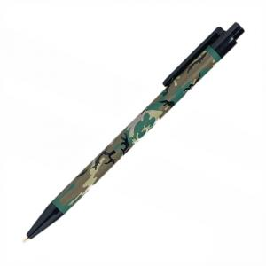 Skilcraft Camouflage Retractable Ballpoint Pen - Black Ink - 12 / Box