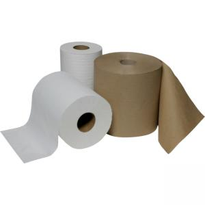 "Skilcraft Continuous Roll Paper Towel - 1 Ply - 12 Per Carton - 1 Carton - 8"" x 600 ft - Natural"
