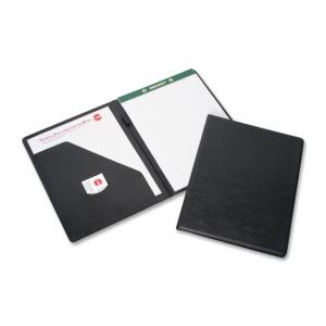 "Skilcraft Economy Note Pad Binder - Letter - 8.5"" x 11\"" - 1 Each - Black"