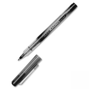 SKILCRAFT Free Ink Rollerball Pen - 0.7 mm Pen Point Size - Black Ink - 12 / Box