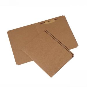 "Skilcraft Heavy-Duty Kraft Paperboard File Folder - Letter - 8.5"" x 11\"" - 0.75\"" Expansion - 100 / Pack - Brown"