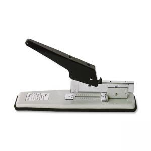 "SKILCRAFT Heavy-Duty Stapler - 80 Sheets Capacity - 100 Staple Capacity - 3/8"", 1/2\"", 1/4\"" Staple Size - Beige"