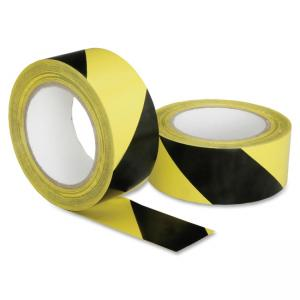 "Skilcraft Hvy-duty Poly Floor Safety Marking Tape - 2"" Width x 36 yd Length - 3\"" Core - Plastic, Vinyl - Flexible, Biodegradea"