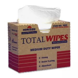 Skilcraft Medium-Duty Wiping Towel - Towel - White