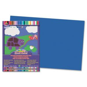 "Pacon SunWorks Groundwood Construction Paper - 18"" x 12"" - Dark Blue"