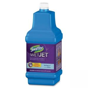 Swiffer WetJet Cleaning Solution - Liquid Solution - 42.3 fl oz (1.3 quart) - Fresh Scent - Green